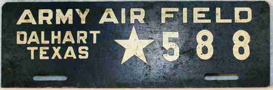 Texas Military License Plates